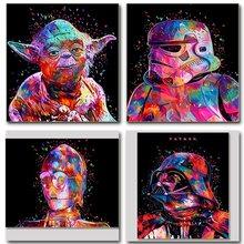Saucerman óleo imagem por números pintura acrílica colorido diy kits para adultos desenho pintura para colorir por número decoração arte