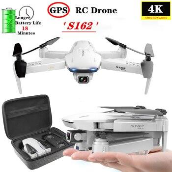 GPS Drone 4K Kamera 5G WIFI FPV Smart Folgen Professionelle Selfie Folding Quadcopter Halten fliegen höhe Mini Drone VS XS812