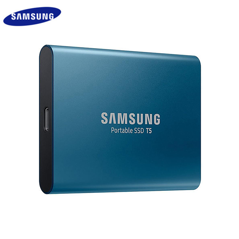 Samsung T5 SSD 500GB 1TB USB 3.1 External Solid State Drives Gen2 And Backward Compatible For Laptop Portable Blue SSD Samsung