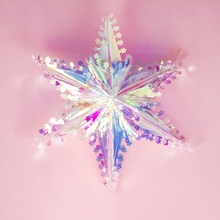 цена на Christmas Christmas Tree Five-pointed  Hanging Decorations Star PlasticMini Decorations Lightweight Festival Cute for Home Decor