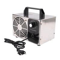 24G/H 220V Ozone Generator Machine Air Filter Purifier Fan for Home Car Formaldehyde Time Switch EU Plug generador de ozono