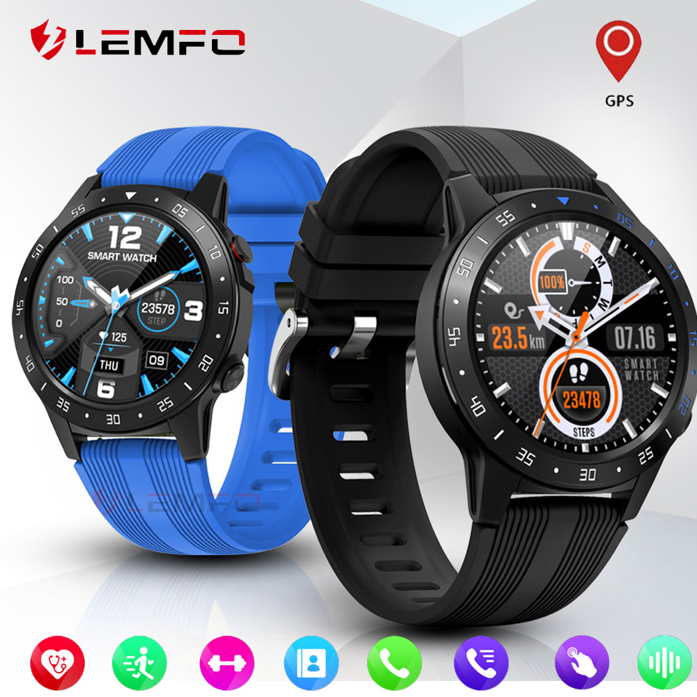 LEMFO GPS Smart Watch Support SIM & Bluetooth Phone Call Smartwatch Men Women IP67 Waterproof Heart Rate Blood Pressure Clock|Smart Watches| |  - AliExpress