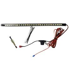 רצועת עם מתג אוטומטי אביזרי רכב לבן משאיות תחת הוד LED אור ערכת מנוע גבוהה בהירות בדיקה עמיד למים