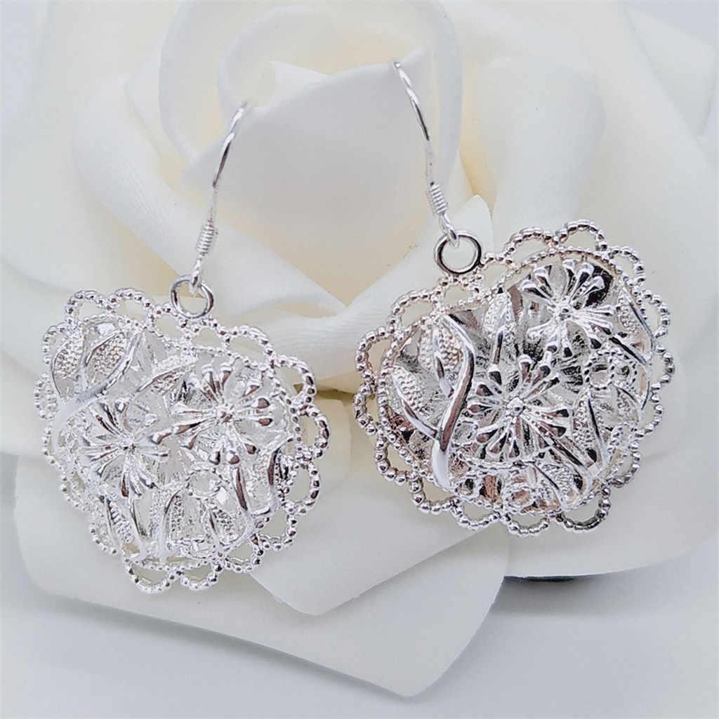 Fashion Korea Laporan untuk Wanita Indah Kristal Sederhana Eropa dan Amerika Anting-Anting Liar Perhiasan Wanita
