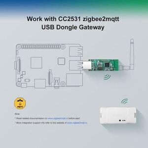 Image 2 - Sonoff Zigbee CC2531 USB Dongle Modul Bare Board Paket Protokoll Analyzer Usb schnittstelle Dongle Unterstützt BASICZBR3 S31 Lite zb