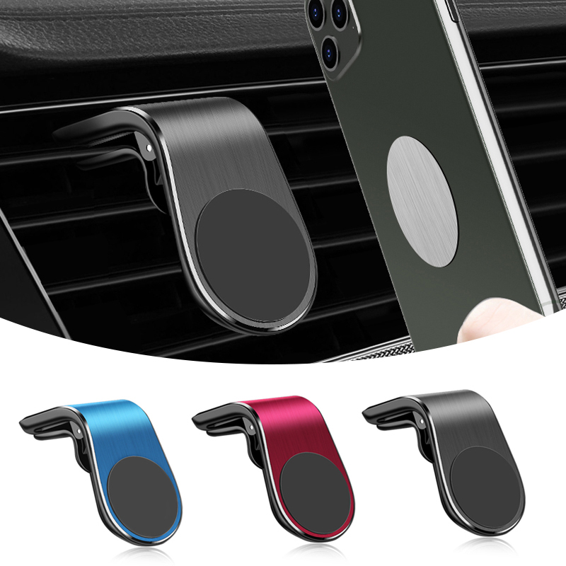 Magnetic Car Phone Holder Magnet Air Vent Cell Phone Stand Mount Clip For VW Polo Golf Passat Scirocco Tiguan Jetta T-ROC GTI
