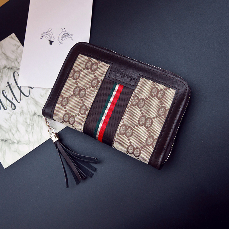 2018 New Style 1 Off Zipper Insurance Women's Wallet Card Bit More Large Capacity Long WOMEN'S Bag