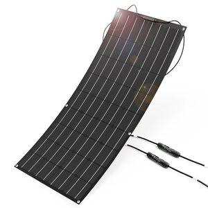 Image 2 - 100 w etfe ince film monokristal hafif 100 Watt esnek GÜNEŞ PANELI deniz ve RV/tekne/diğer kapalı grid uygulamaları