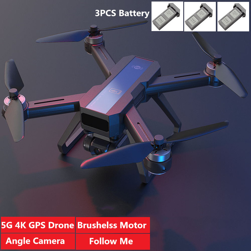 Electronic Anti Shake Pan Tilt GPS Positioning Follow Me 4K WIFI FPV Remote Control Aircraft 5G Wifi Gps System RC Quadcopter