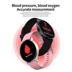 Image 3 - Astuto Della Vigilanza T4 Braccialetto Intelligente di Frequenza Cardiaca Monitor di Pressione Sanguigna di Chiamata di Promemoria Per Il Fitness Tracker Impermeabile Intelligente Orologio Per Android