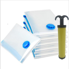 1/5pcs Air Vacuum Bag for Clothes Quilt Storage Bag with Valve Foldable Dustproof  Moistureproof Reusable Storage Organizer