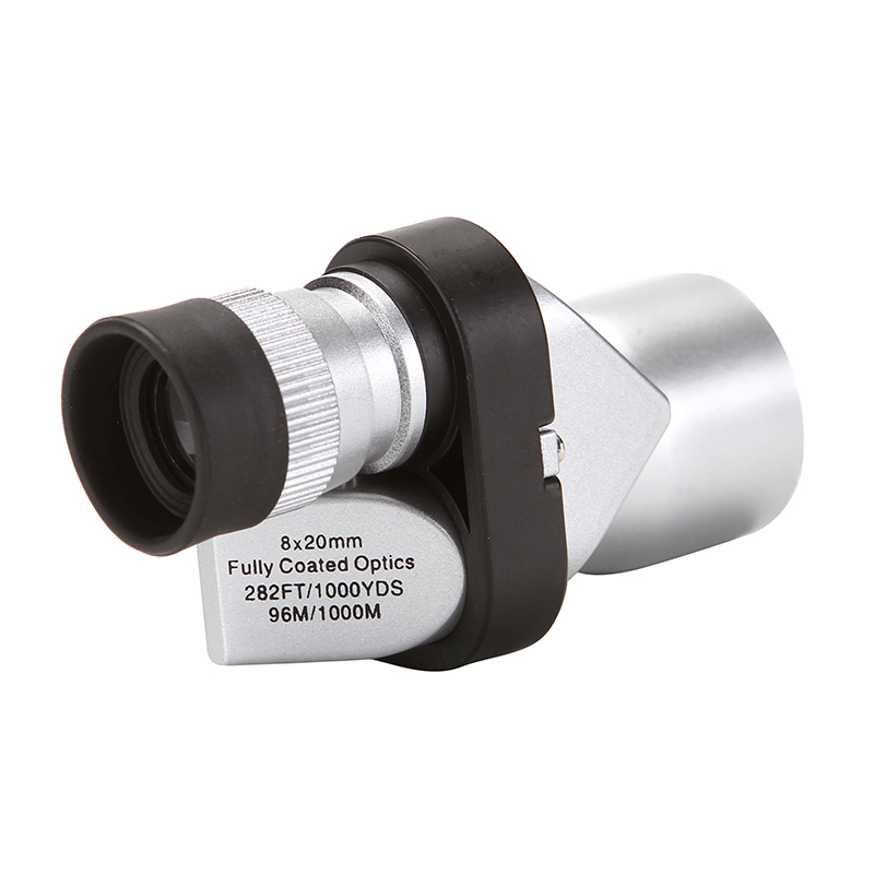 Portable Mini 8x20 Monocular Telescope Adjustment Low Light Night Vision Binocular Spotting Scope Hunting Bird Watching 1