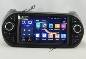 Octa core IPS screen Android 9.0 Car GPS radio Navigation for Fiat Fiorino Qubo peugeot Bipper Citroen Nemo 2008-2016