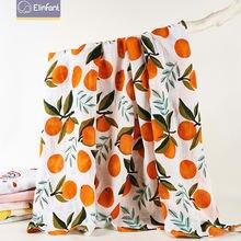 Elinfant 1 шт муслин 100% хлопок детские пеленки мягкие одеяла
