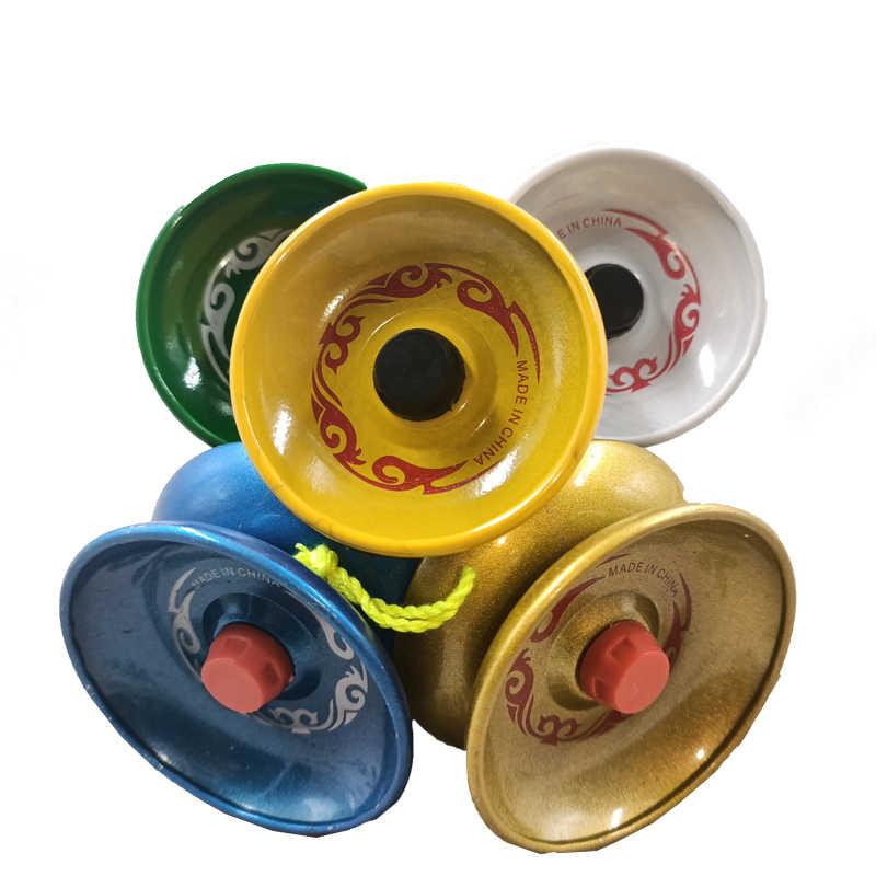 1 ud. De YoYo profesional de aluminio cuerda de aleación truco yo-yo rodamiento de bolas para principiantes adultos niños clásico juguete interesante de moda