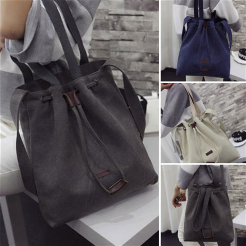 2020 New Arrival Women Handbag Shoulder Messenger Crossbody Bag Wallet Hobo Satchel Purse Tote Colorful Canvas Shoulder Bags