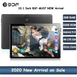 Новые поступления 10,1 дюймов 4G LTE телефон планшетный ПК Android 9,0 Восьмиядерный CE бренд Dual 4G SIM Google Play WiFi Bluetooth GPS планшеты