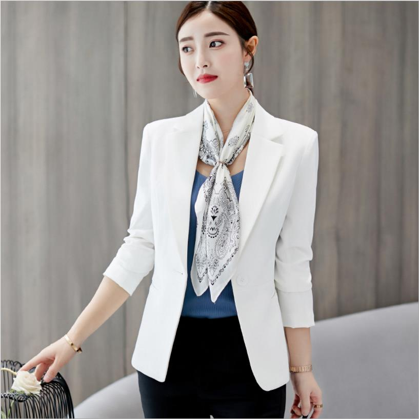 US OL Women Slim Fitted One Button Short Blazer Coat Jacket Long Sleeve Suit New