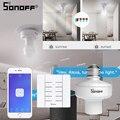 SONOFF Slampher E27 лампа/светильник/держатель лампы 433 МГц RF/WIFI/APP eWelink пульт дистанционного управления умная Поддержка Google Home Automation Alexa
