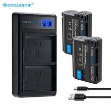 EN-EL15 EL15A Battery for Nikon D7500 D7200 D7100 D7000 D850 D810 D810A D800 D800E MH25 V1 EN EL15 Camera Batteries 1900mah