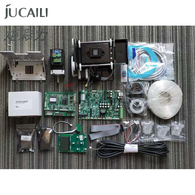 Jucaili large format printer board small kit for dx5  dx7 convert to xp600 single head board  set small kit|Printer Parts| |  - title=