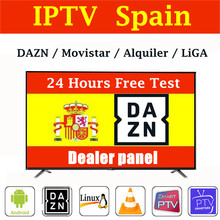 Stable Premium 1 Year Abonnement IPTV Spain With 4K HEVC VOD Movies For Xtream Code m3u Smart IPTV Smarters Pro ios pc