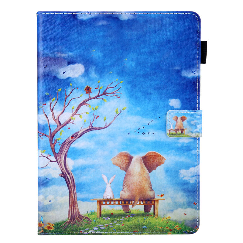 02 White Cute Unicorn Cat Case For iPad 10 2 Case 2019 Tablet Cover For iPad 10 2