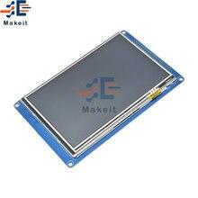 """5 дюймов 50 """"800*480 на тонкопленочных транзисторах тонкоплёночных"""