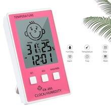 Digitale Thermometre Hygrometer Temperatuur Logger Meter Thermometre Higrometre Indoor Thermometer Voor Baby Kamer/Badkamer