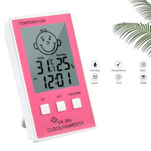 Digital Thermometre Hygrometer Temperature Logger Meter Thermometre Higrometre Indoor Thermometer for Baby Room/ Bathroom