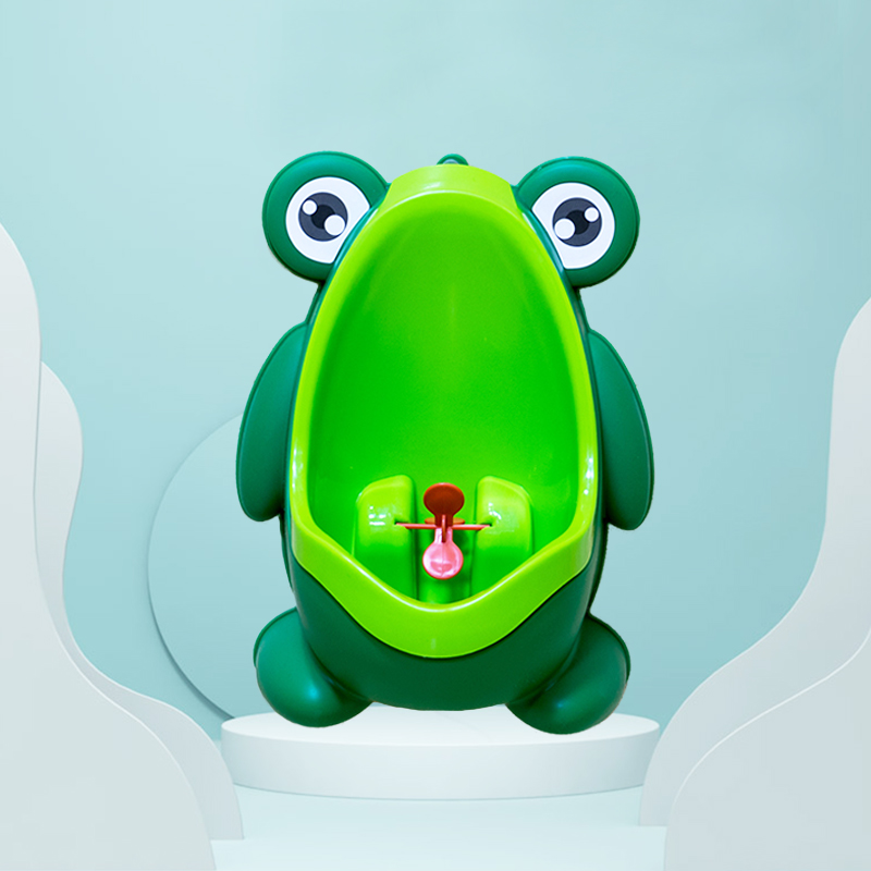 New Arrival Baby Boy Potty Toilet Training Frog Children Stand Vertical Urinal Boys Pee Infant Toddler Wall-Mounted Child