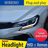 Car Styling Head Lamp for Toyota Mark X Headlights 2013 2017 Reiz LED Headlight LED DRL All LED light source Accessories