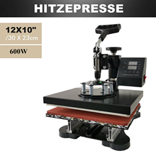 YH T-shirt Heat Press Machine 230B 12x10 Transfer Swing-Away
