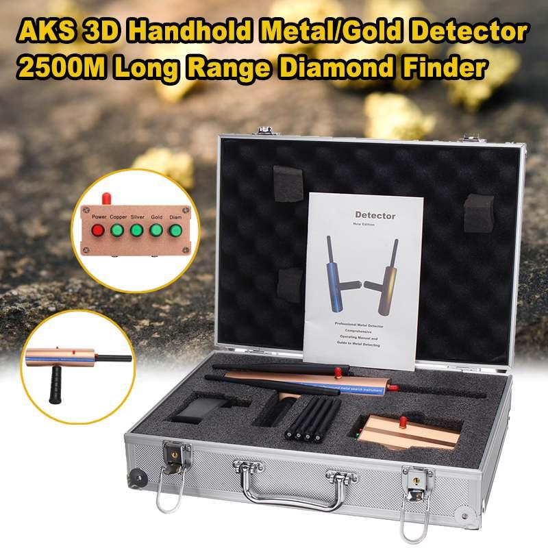 Long Range Copper Underground 3D Metal Detector Diamond Gold Silver Stones Intelligent Machinery Detect Copper