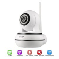 LESHP Home Security IP Camera Wireless WiFi Camera Two Way Audio Video Baby Monitor 960P HD Night Vision Motion Detection