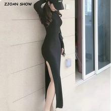 Женское винтажное платье до середины икры облегающее с высоким