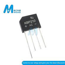 10PCS KBP210 2A 1000V Diode Bridge Rectifier KBP210 Neue Und Original ic