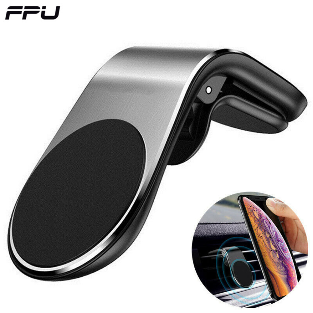 FPU Magnetic Car Holder For Phone Universal Mobile Support Cell Phone Holder Stand In Car Air Vent Mount GPS Car Phone Holder