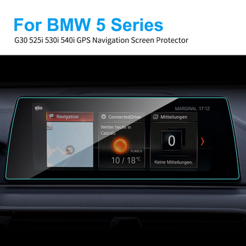 Car Screen Protector GPS Navigation Touch Screen 10.25 Inch Tempered Glass for BMW G30 525i 530i 540i 5 Series Protective Film image
