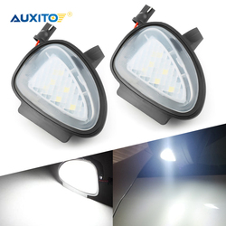AUXITO 2x No Error Led Side Mirror Light For Volkswagen VW Golf 6 GTI Passat B7 Cabriolet Touran Accessories Led Courtesy Lights