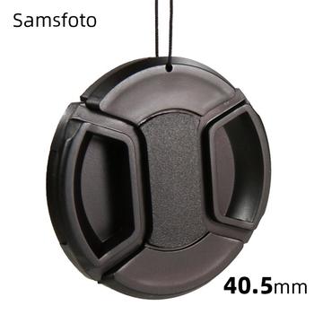 40 5mm Snap-On osłona obiektywu do Sony 16-50mm zestaw obiektywu SELP1650 na Sony A6000 A6100 a6300 A6400 A6500 A5100 A5000 tanie i dobre opinie EDMTON CAP-40 5