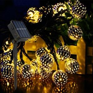 Ball LED String Light Solar Po