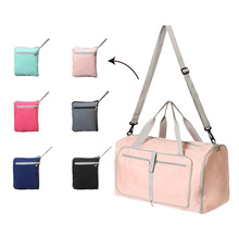 Travel Bag Foldable Wet and Dry Separation Fitness Sports Weekded bag Big Luggage Multi-Purpose Duffel Women Men Pink