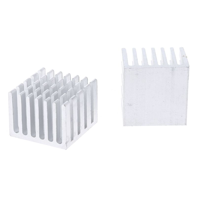5Pcs/Set 20x20x15mm Cooling Heatsink CPU GPU IC Chip Aluminum Heat Sink Radiator AXYF