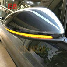 Kibowear para vw golf 7.5 mk7.5 gti r gtd rline mk7 7 dinâmica blinker led transformar a luz do espelho de sinal 2013 2014 2016 2018 2019 2020