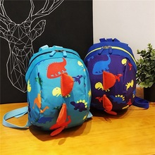 Colorful Dinosaur Baby Safety Harness Backpack Toddler Anti-lost Bag Children comfortable Schoolbag toddler anti lost wrist link