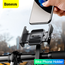 Baseus Motorcycle Bicycle Phone Holder For iPhone 11 Xiaomi Universal Bike Mobile Phone Stand Handlebar Clip Moto Mount Bracket