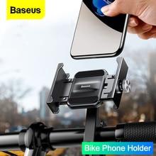 Baseus motosiklet bisiklet telefon tutucu iPhone 11 Xiaomi evrensel bisiklet cep telefonu standı gidon klip Moto montaj braketi