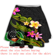 PLstar Cosmos Summer 2021Newfashion Colorful Tattoo Funny Tribe Turtle Culture Skirts Amazing Short Skirt Causle Women's Model 1