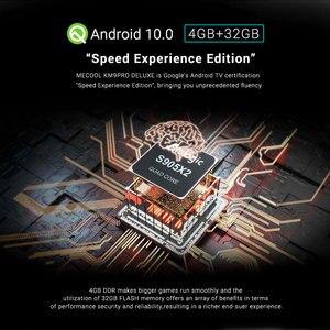 Image 2 - MECOOL KM9 Pro Android 9.0 Amlogic S905X2 TV BOX Voice Control 4K Streaming 4GB DDR4 32GB Media Player HD 2.4G/5G Smart TV BOX